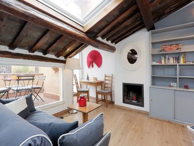 Photo for Warm and welcoming adjoining two bedroom apartments, for up to eight people, with private terrace, l
