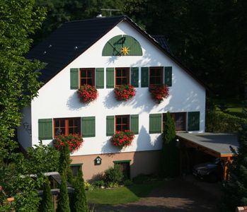 Photo for Forsthaus Fichtenau - idyllically located on the Berlin city forest - with S-Bahn connection