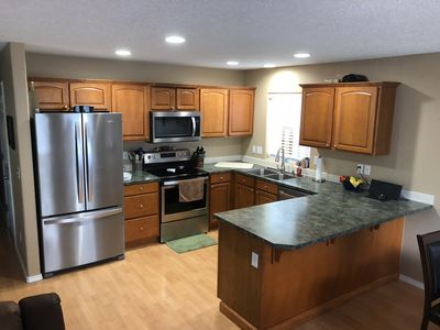 Full Kitchen with brand new appliances. Fully functional