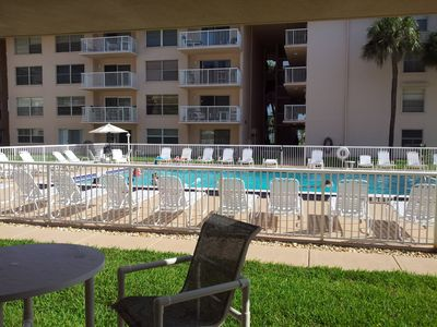 Photo for First floor family friendly direct ocean condominium on Cocoa Beach