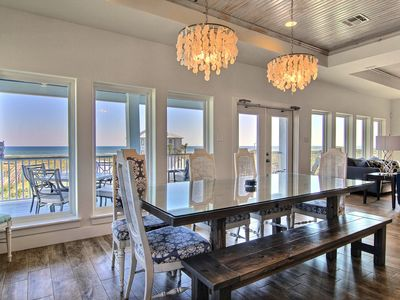 Photo for The Blue Pearl offers AMAZING Ocean VIEWS, Pool, Boardwalk to Beach, Pets