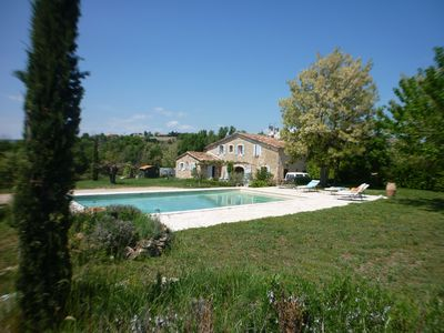 Photo for Charming property sleeps 10 in the Luberon