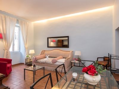 Photo for Apartment 7 m from the center of Rome with Internet, Air conditioning (9711)