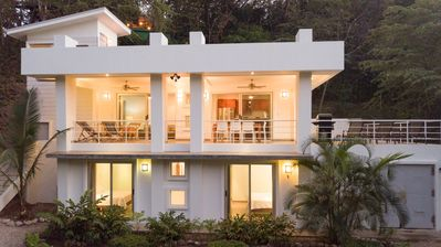 Photo for Modern, Spacious Jungle beach Villa just a short walk to the surf and Yoga!