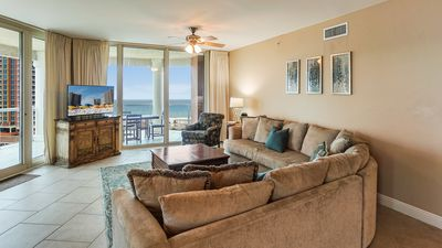 Photo for P2-1007 Wonderful 3BR Skyhome with Great Gulf View