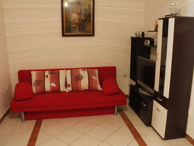 Photo for Two bedroom apartment with air-conditioning Metajna, Pag (A-527-j)
