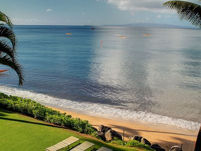 Photo for NEWLY RENOVATED  - Lavish Beach Front - Starting @ $199/night- Kihei Beach #307