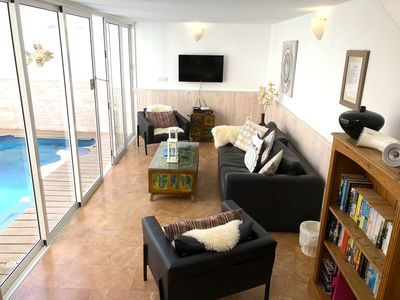 Lounge and private pool