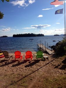 Photo for Classic  Sebago Camp with great views