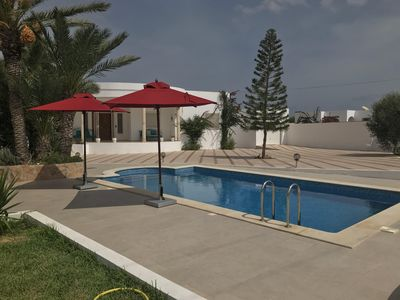 Photo for A nice villa with pool in tezdaine