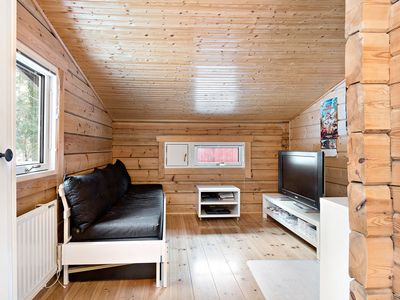 Photo for Spacious log cabin with 4 bedrooms