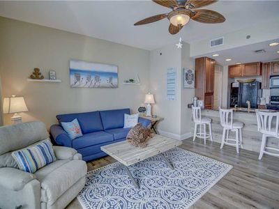 Photo for Gorgeous, Beachy Unit - Sleeps 6 - Updated and Beautiful! Near Pier Park!