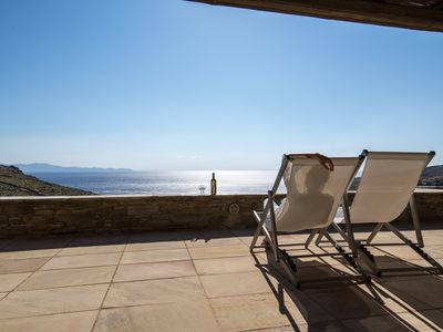 Photo for Stonehouse Sea View Villa 1 - Tinos