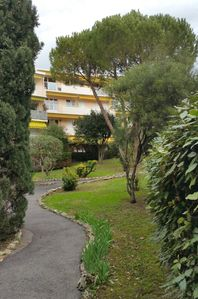 Photo for Nice Apartment T3 on gardens in Residence Cannes Côte d'Azur