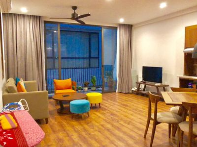 Photo for DIS20%@1 Bedroom Apt./Pivate Bathroom&Kitchen in Hanoi Central/Near West Lake