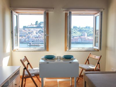 Photo for Apartment with fantastic views over the river Douro