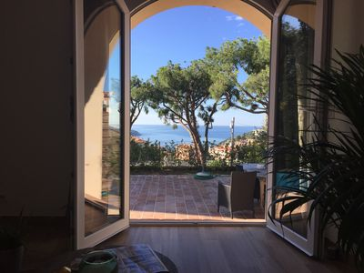 Photo for Beautiful 2 rooms, Col de Villefranche S / Sea Terrace / Private Pool / Dream.