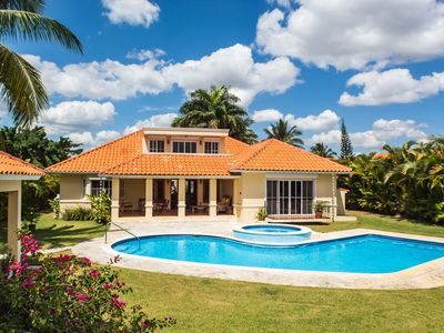Photo for ✪ Golf Villa with Pool, Jacuzzi, WIFI + Cable.