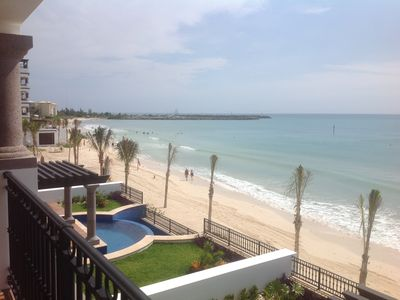 Photo for 3 Bedroom Condo On The Beach with full Amenities of Luxury Resort Complex