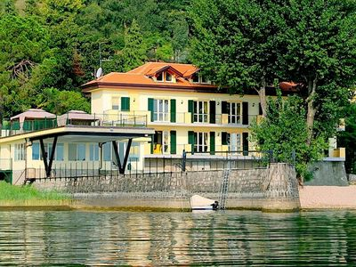 Photo for Residence located on the shores of Lake Maggiore.