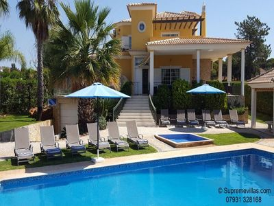 Photo for 6 bedroom Villa, sleeps 16 with Pool, Air Con and FREE WiFi
