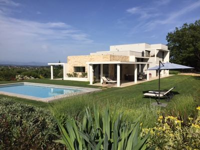 Photo for Superb contemporary house in Valbonne, exceptional site