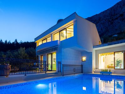 Photo for ctma188/ Villa with private pool in Makarska, ideal choice for all nature lovers, accommodates up to 6 persons
