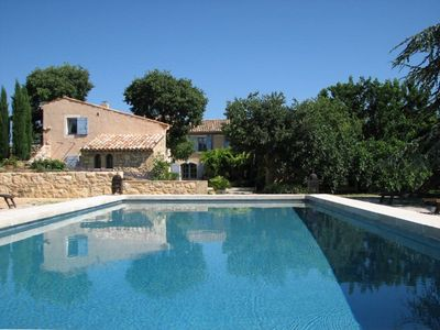 Photo for Bed and Breakfast in a charming house in the heart of the Luberon, lavender room