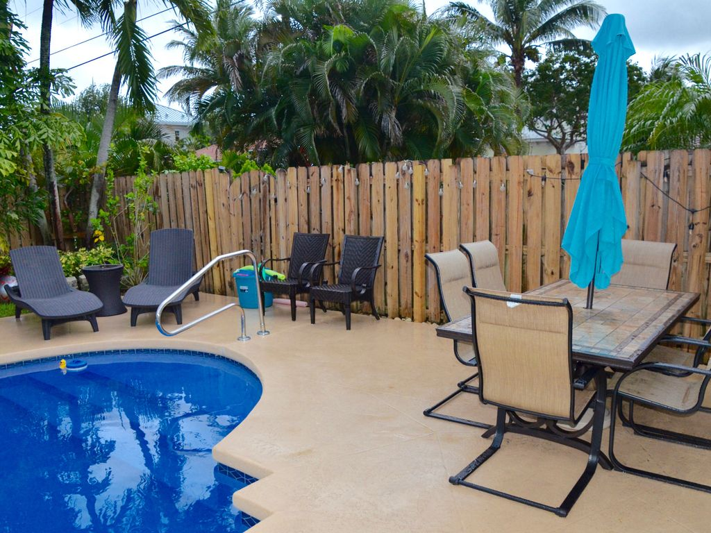 Downtown Delray Beach House Heated Pool 5 Min To