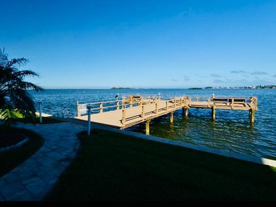 Photo for Direct Waterfront Condo in Dunedin, Florida ~ Near Honeymoon Island