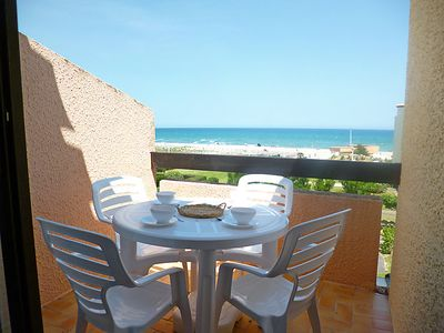 Photo for One bedroom Apartment, sleeps 4 in Le Barcarès with WiFi