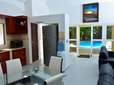 Photo for Guest friendly 2  Bdrm Villa in Playa Laguna, Sosúa. 3 min walk from the beach!