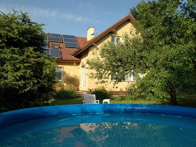 Photo for Beautiful appartament with pool, garden and terrace in the Bohemian Paradise