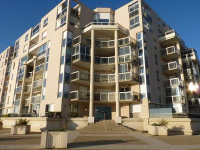 Photo for T2 with garage, 20m from the beach, in the bay of La Baule