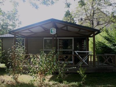 Photo for Camping Au Soleil d'Oc **** - Chalet 3 Rooms 4 People Access PMR
