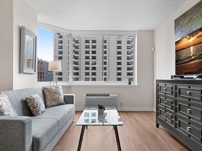 Photo for Modern Studio | Full Kitchen | Jersey City Waterfront |by GLS