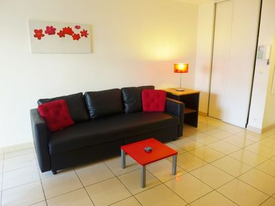 Photo for Apartment in Nice with Lift, Parking, Internet, Washing machine (109559)