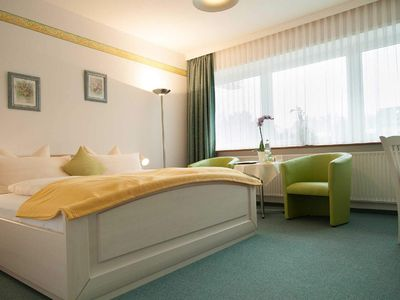 Photo for Double room 2nd floor without balcony - Hotel Diekseequell