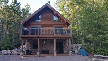 Beautiful Log Cabin on Remote Lake, with Limited Public Access.