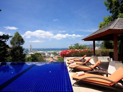 Photo for Amazing private pool sea views sauna fitness room pooltable chef maids manager
