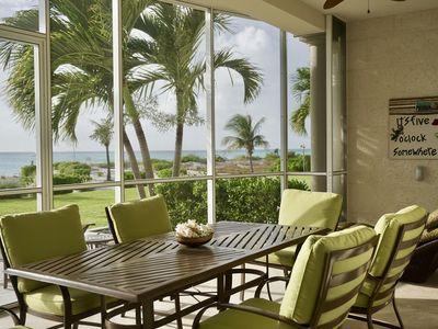 Photo for Full serviced Condo, ON Grace Bay Beach