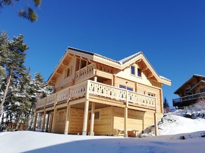 Photo for Chalet Cricri du Loup 142M2 capacity 14 people with Sauna and 5 bedrooms