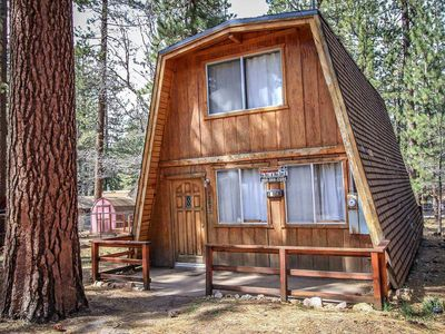 Photo for Cedar Haus Quaint/Basic 2 BR Bear Mountain Chalet