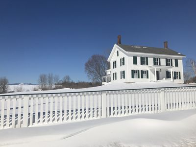 Large 1790's Historic Country House CRYSTAL SPRING FARM  Downtown Essex, NY