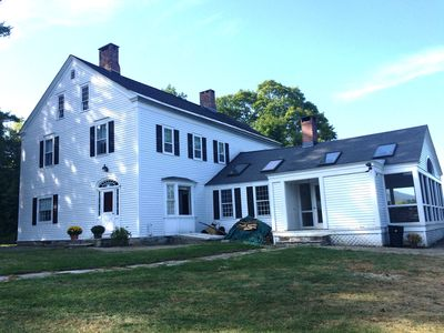 Photo for Shaftsbury Vermont Farm House Full Of History, Views, And Classic Beauty