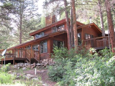Photo for A Lovely and Family Friendly Wilderness Home with Stunning Views and Hot Tub