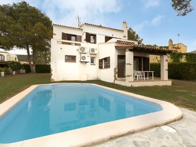 Photo for Great house with private pool, A/C, BBQ, parking, garden