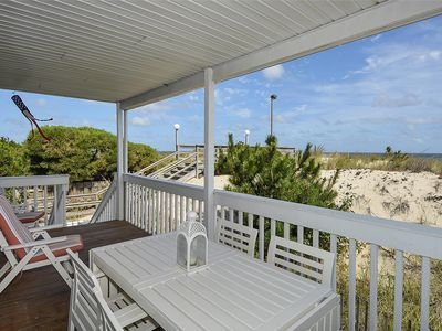 Photo for FREE ACTIVITIES!!! Just remodeled throughout with brand new kitchen and baths, this first floor ocean front very spacious 2 bedroom, 2 bath condo is the ideal family beach getaway