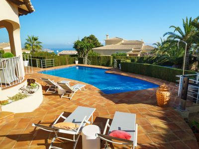 Photo for Vacation home Alegre in Moraira - 6 persons, 3 bedrooms