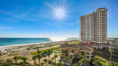 Photo for P3-0704  - 3 Bedroom GULF view at Portofino/ Includes Beach Chairs!